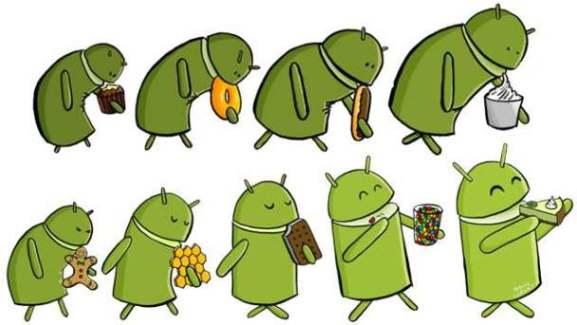 Samsung, les appareils éligibles à Android 4.2.2 et Android 5.0 ?