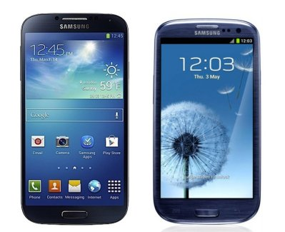 Samsung Galaxy S4 VS Samsung Galaxy S3 : Quels changements ?