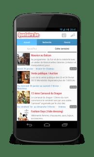 [Belgique] L'application Quefaire.be est de sortie!
