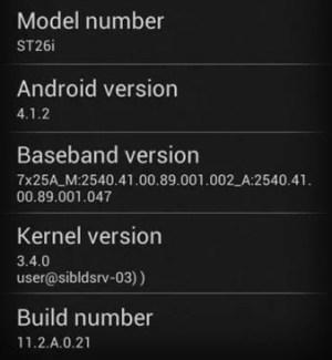 Sony Xperia J : Android 4.1.2 est en cours de déploiement !
