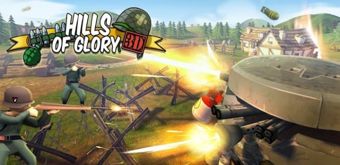 Hills of Glory 3D, un tower defense aux allures de « cartoon »