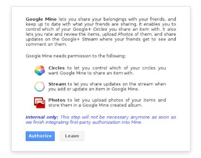 Google Mine : montrez et partagez vos biens avec vos amis !