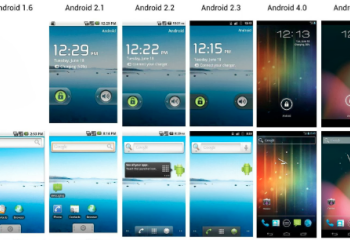 L'évolution des versions d'Android en images
