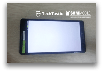 Galaxy Note 3, les photos d'un prototype de 5,99 pouces