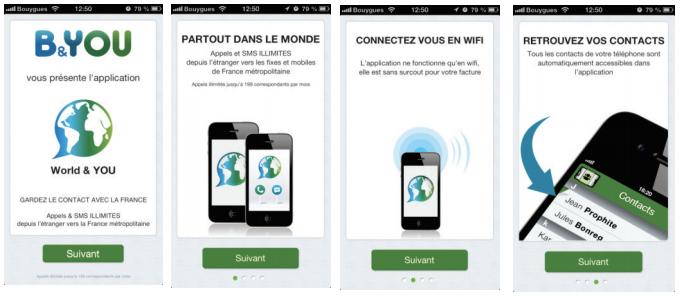 B&You propose World & You pour appeler et envoyer des SMS depuis l'étranger… gratuitement