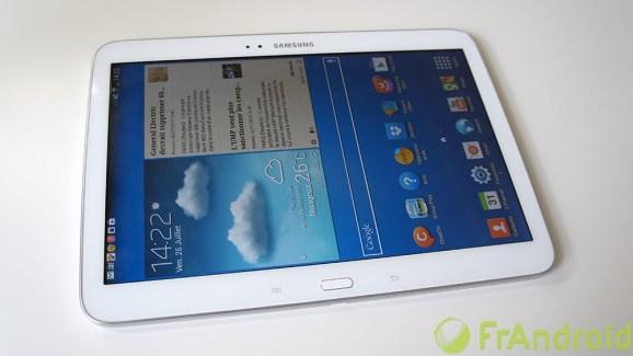 Test de la Samsung Galaxy Tab 3 10.1