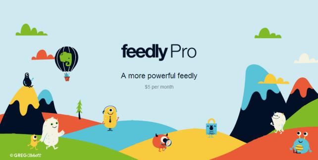 Feedly Pro, un modèle payant débarque pour le gestionnaire de flux RSS