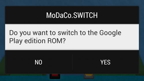 MoDaCo.SWITCH (Galaxy S4) est disponible pour les donateurs