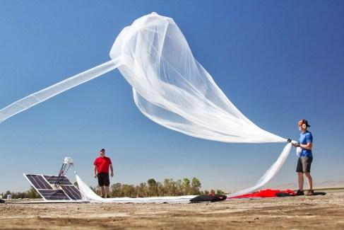Project Loon : les premiers essais des «ballons» de Google ont lieu en Californie
