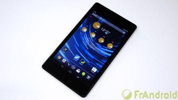 Prise en main de la Nouvelle Nexus 7 (2013)