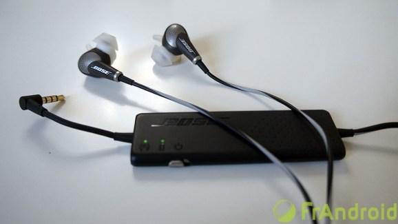Test des Bose QC20, des intra-auriculaires avec réduction de bruit