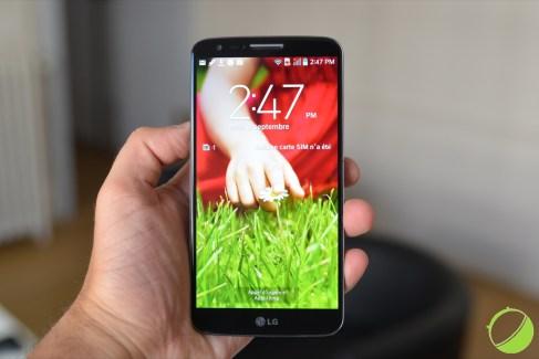 LG G2 : mise à jour vers KitKat imminente, du moins au Canada