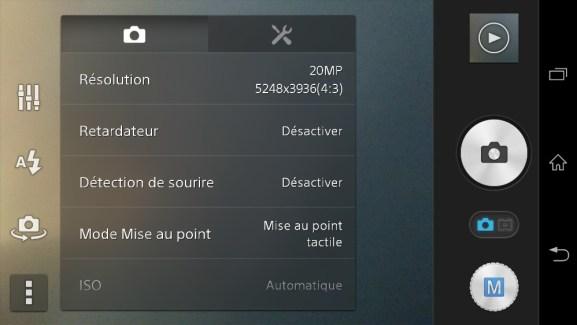 Sony Xperia Z1 : l'application Appareil Photo portée sur Xperia Z, ZR, ZL, Z Ultra et bientôt Tablet Z