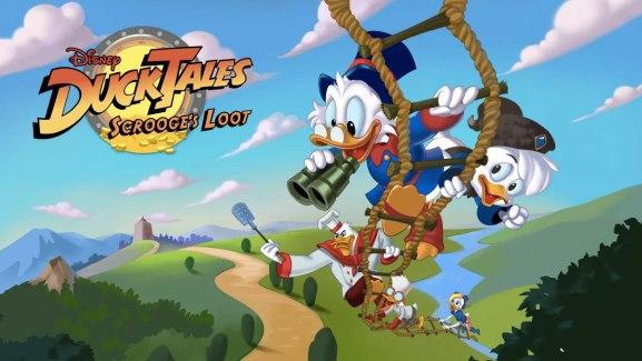 Duck Tales: Scrooge's Loot : la bande à Picsou est sur le Google Play