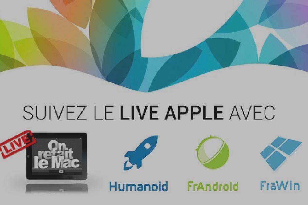 Suivez la keynote Apple spéciale iPad sur le réseau Humanoid avec OnRefaitLeMac
