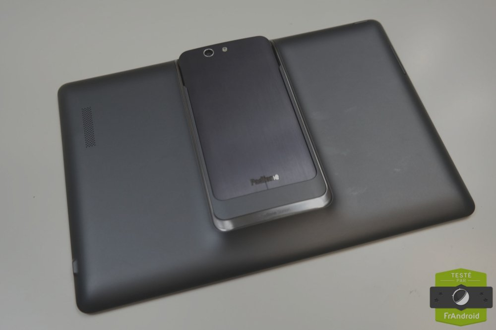 Test flash de l'Asus PadFone Infinity et de la PadStation, le tabletto-smartphone