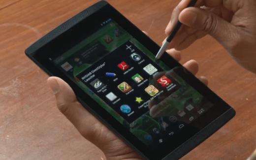 La Nvidia Tegra Note 7 se dévoile en vidéo