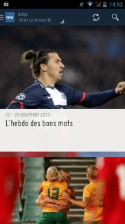 FIFA : l'appli officielle et complète de la fédération est sur le Play Store