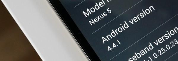 Android 4.4.1 s'invite aussi sur les Nexus 4 et Nexus 7 LTE (2013)