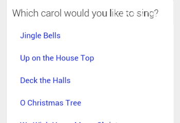 Google Search propose des chants de Noël en karaoké, let's go caroling !