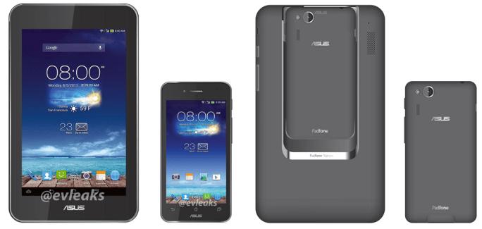 ASUS Padfone Mini 4.3, un premier rendu officiel dévoilé ?