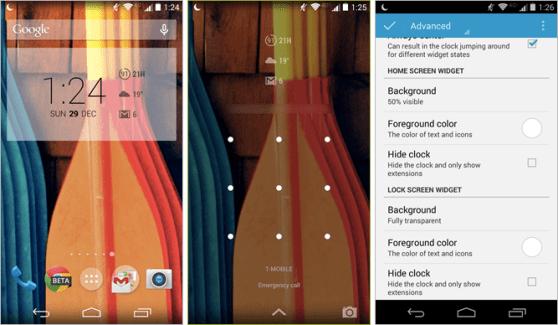 DashClock 1.6, le widget d'horloge amélioré pour l'écran verrouillé se met à jour