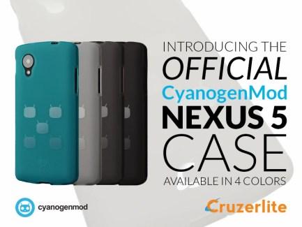CyanogenMod se lance dans les coques pour Nexus 5, l'offensive marketing démarre ?