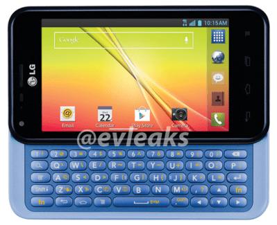 Première image du LG Optimus F3Q : un terminal LTE équipé d'un clavier coulissant