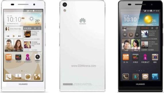 Le Huawei Ascend P6 S s'engage sur le marché chinois
