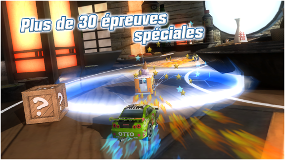 Table Top Racing, un jeu d'arcade de course fun sur Android