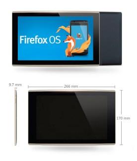Firefox OS : la première tablette sous l'OS de Mozilla fait surface