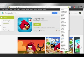 Une extension Chrome pour changer la langue du Google Play