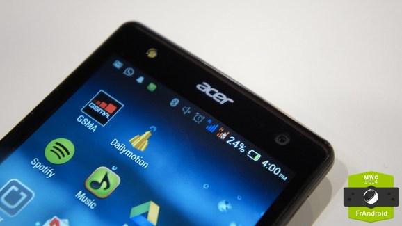 Acer Extend, ou comment déporter un écran de smartphone sur un PC