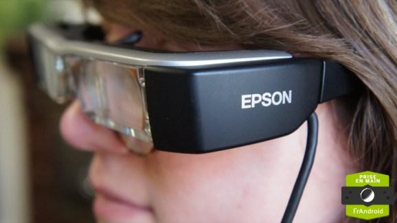 Prise en main des Epson Moverio BT-200, des lunettes sous Android