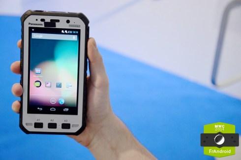 Prise en main du Toughpad FZ X1 de Panasonic : le tank