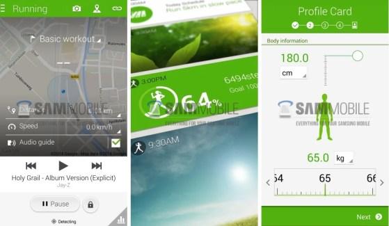 S Health : une nouvelle UI pour l'application sportive de Samsung ?