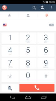 Bolt : passez des appels VoIP et téléphoniques depuis un seul et même dialer
