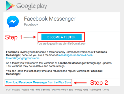 Facebook Messenger : un nouveau programme bêta est lancé