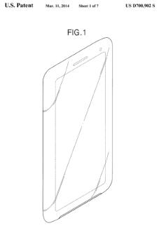 Brevet Samsung : un smartphone avec écran 21:9 ?