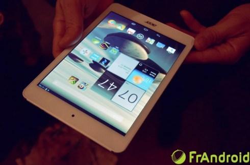 Prise en main de la tablette Acer Iconia A1-830, les signes d'une très bonne entrée de gamme