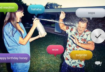 Voice Balloon, l'application Sony qui commente en temps réel vos photos