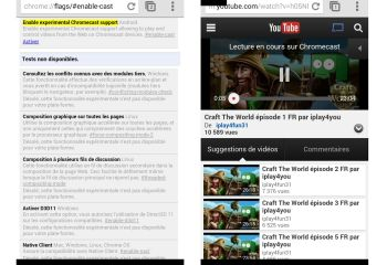 Chrome Beta 34 est compatible Chromecast sur Android