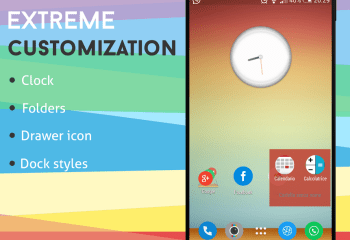 Inspire Launcher, un lanceur d'applications flat sur Android