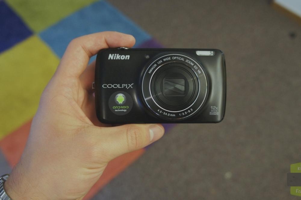 Prise en main du Nikon S810c, le compact abordable sous Android