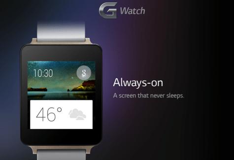 LG G Watch : un Snapdragon 400 avec modem sous le capot ?
