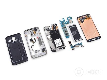 Le Samsung Galaxy S5 se fait démonter par iFixit : 5/10