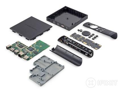 Amazon Fire TV : iFixit lui attribue 6/10 et confirme la présence d'un Snapdragon 600