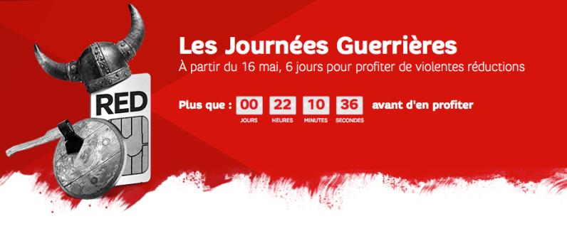 Bon plan : de l'illimité et 5 Go d'internet à partir de 10 euros/mois chez RED SFR