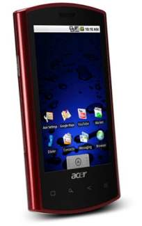 Acer Liquid E sous Android 2.1