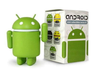 Des figurines Android